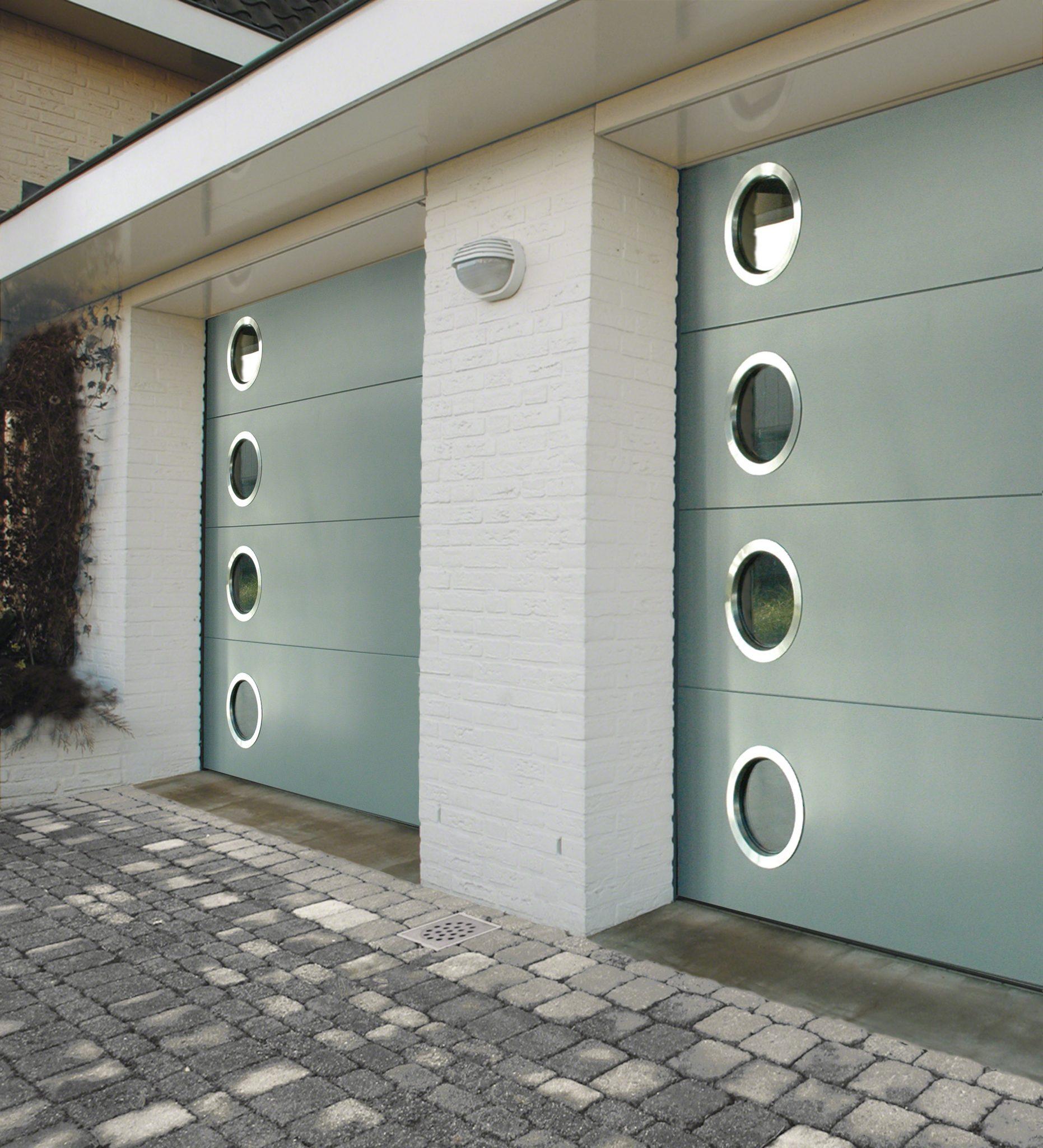 Sage garage door